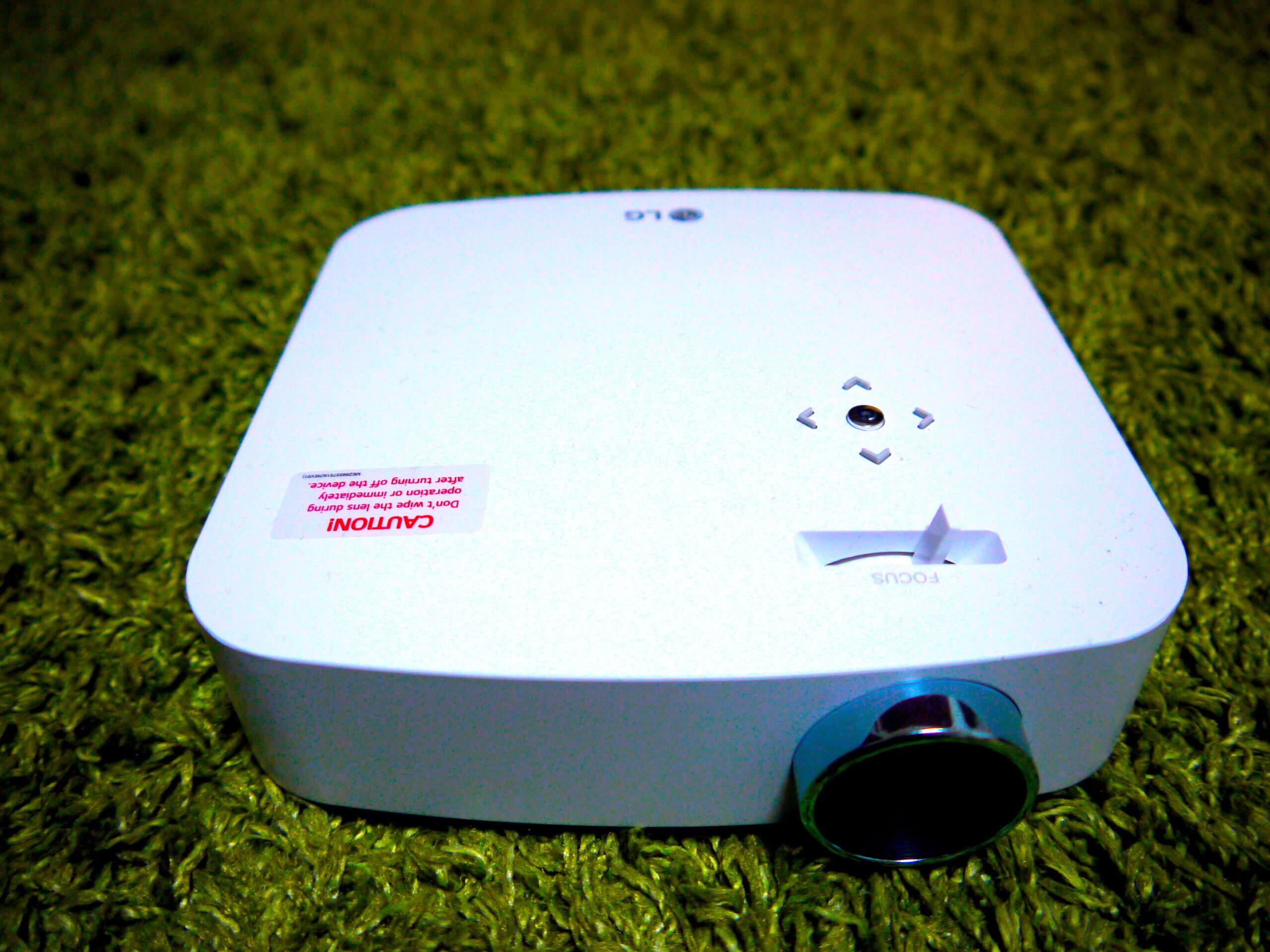 LG pf50Ks プロジェクター画像
