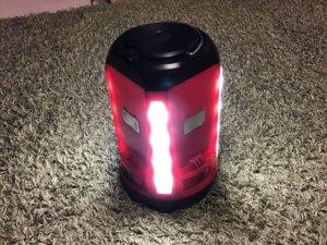 コールマンLEDランタン 電池8本分の明かり