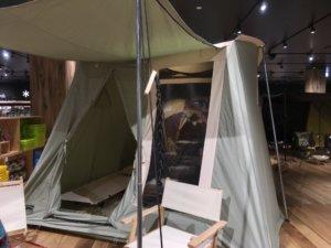 家型テント