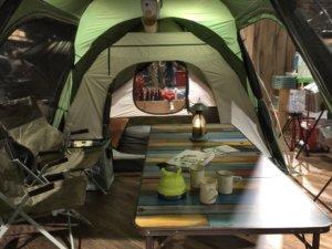 ロゴス 2ルームテント