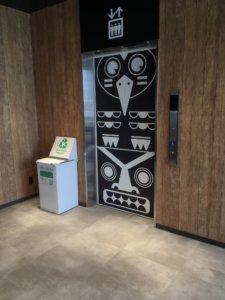 アルペンアウトドアーズ札幌発寒 エレベーター