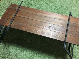 テキーラテーブル 木材
