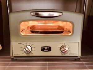 アラジン トースター 空焼き画像