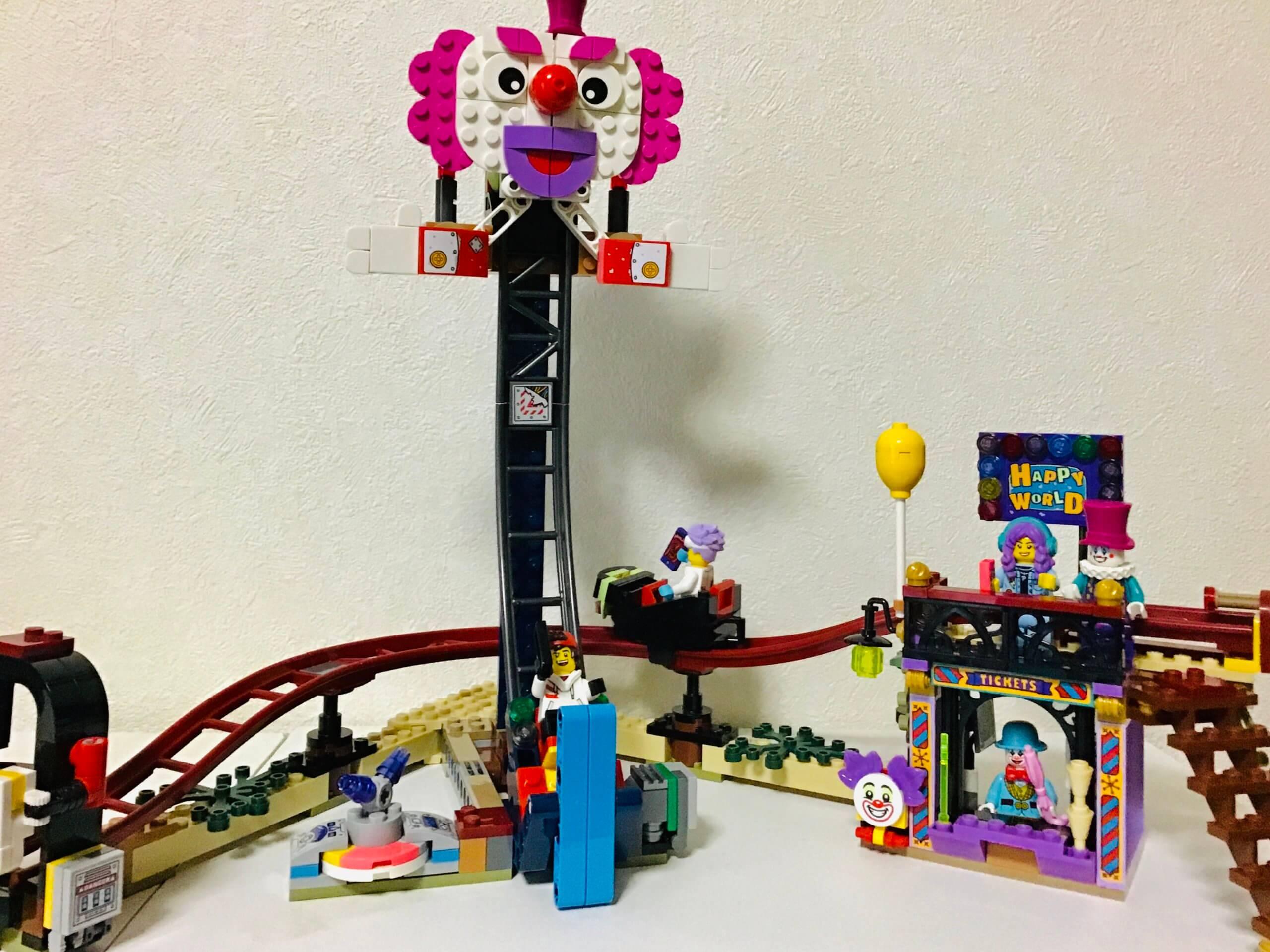 レゴ ヒドゥンサイド ゴーストのいる遊園地