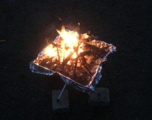 ファイアグリル 焚き火