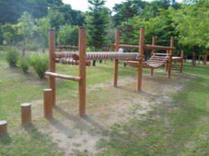 鹿公園キャンプ場 アスレチック