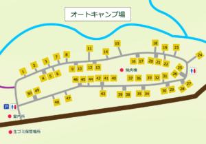 道民の森 オートキャンプ場 MAP