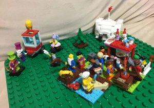 レゴ キャンプ場再現 シーン
