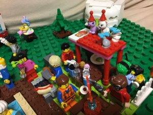 レゴ キャンプテーブル