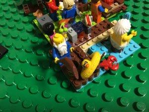 レゴ キャンプ 管理人さん