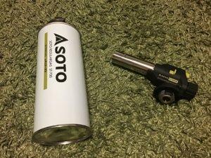 SOTO レギュラーガスフィールドチャッカー 写真
