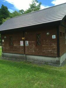 道民の森 トイレ写真