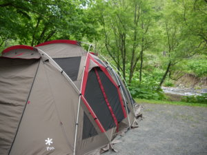 北海道 道民の森キャンプ場