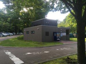 いわみざわ公園キャンプ場 自動販売機