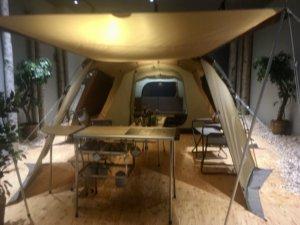 コルソ札幌 スノーピーク 展示スペース