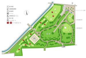 明日風公園全体図