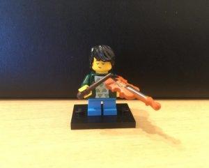 レゴ バイオリン少年