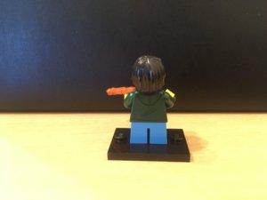 レゴ バイオリンキッズ後ろ姿