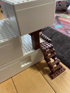 レゴIKEAボックスで家作成
