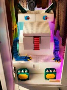 レゴIKEAボックスでモンスター作成