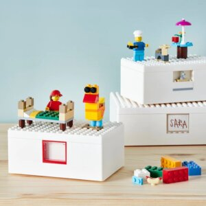 レゴIKEAのフタはブロックが付けられる