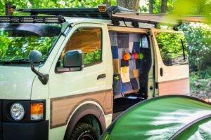 gRon キャンプのれんイメージ