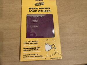 KEEN マスク パッケージ
