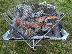 コストコラムチョップ BBQ