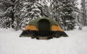 冬 キャンプ