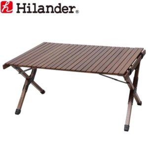 ハイランダー ウッドロールトップテーブル2
