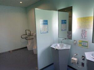 滝里湖オートキャンプ場 水洗トイレ